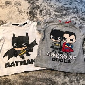 H&M Batman tees